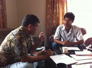 CGCF Mentorship- Bijay maharjan with Dr. Hum B Gurung
